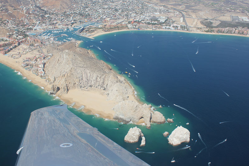 Flight time from san francisco to cabo